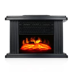 1000W Electric Fireplace Stove <font><b>Heater</b></font> Po