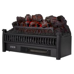 VIVOHOME 1400W Electric Insert Log Quartz Fireplace Space He