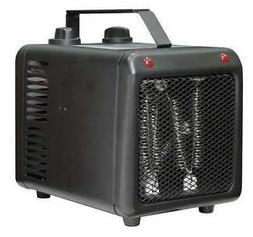 DAYTON 3VU37 Portable Electric Heater, 1500W/1000W, 120VAC,