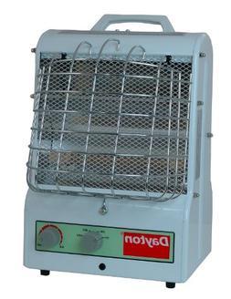 1500/900/600W Electric Space Heater, Fan Forced/Radiant, 120