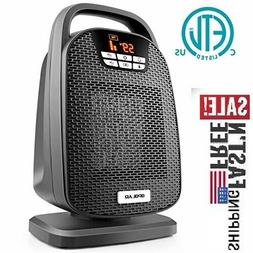 1500 W Digital Space Heater with Temperature Control, Timer