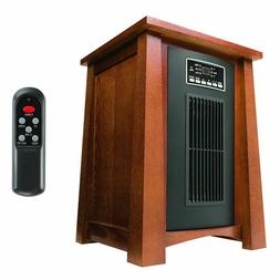 1500 watt 5100 btu infrared space heater