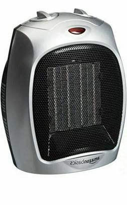 Amazonbasics 1500 Watt Ceramic Space Heater Adjustable Therm