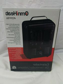 OmniHeat 1500-Watt MilkHouse Utility Fan Electric Space Heat