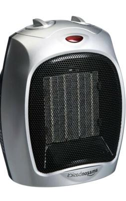 Amazonbasics 1500 Watt Oscillating Ceramic Space Heater with