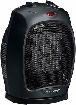 AmazonBasics 1500 Watt Oscillating Ceramic Space Heater with