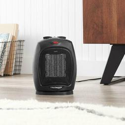 1500 Watt Oscillating Ceramic Space Heater with Adjustable T