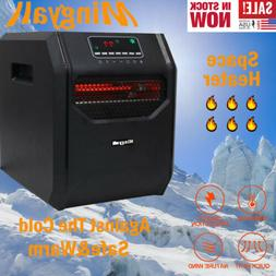 Mingyall 1500W 6Quartz Space Heater Infrared Electric Heater
