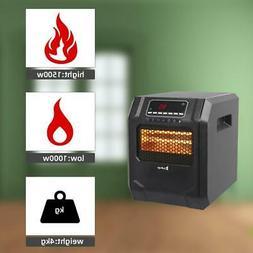 ZOKOP 1500W Electric Safe Indoor 4 Element Quartz Infrared F