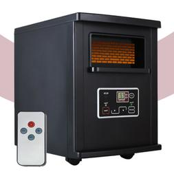 1500W Electric Space Heater Infrared Quartz with Remote Cont