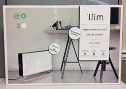 1500w glass convection heater w fan portable
