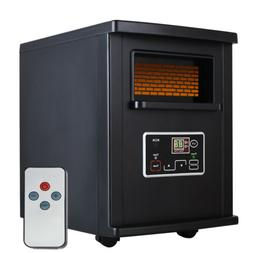 1500W Electric Portable Space Heater Infrared Quartz with Re