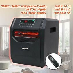 Mingyall 1500W Quartz Space Heater Infrared Electric Heater