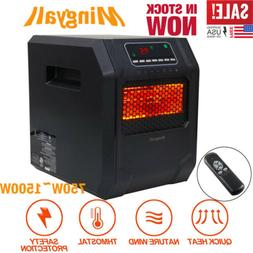 1500W Mingyall Quartz Space Heater Infrared Electric Heater