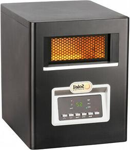 1500W Space Heater Electric Infrared Quartz Cabinet Remote L