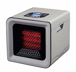 RedCore 15306RC R1 Infrared Heater, 1000-Square Feet, Silver