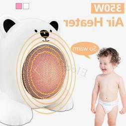 220v 350w mini cartoon bear electric heater