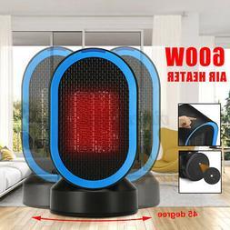 220V 600W Oscillation Ceramic Electric Space Heater Fan Warm