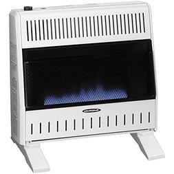 Sure Heat 30,000 BTU Blue Flame Dual Fuel Gas Space Heater w