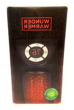 350w ceramic wall outlet space heater adjustable