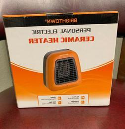 400-Watt Portable-Mini Heater Personal Ceramic Space Heater for Office