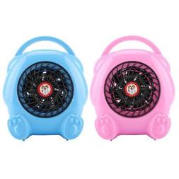 400W Mini Space Heater Fan Winter Warm Bedroom Kitchen Offic