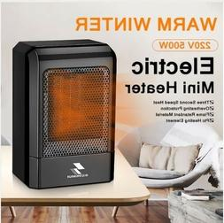 500W 220V Portable Electric Mini Fan Space Heater