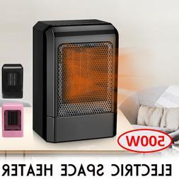 500w mini ceramic electric heater home office