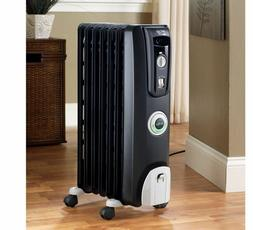 DeLonghi 5118-BTU Oil Radiant Tower Electric Space Heater Po