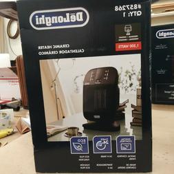 DeLonghi 5120 BTU Ceramic Compact Electric Space Heater with