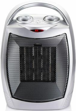Brightown 700W/1500W Portable Ceramic Space Heater with Adju