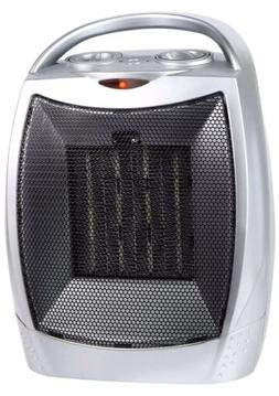 750W/1500W CERAMIC SPACE HEATER with Adjustable Thermostat &