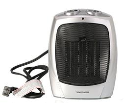 750W/1500W ETL Listed Ceramic Space Heater with Adjustable T