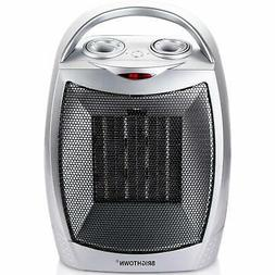Brightown 750W/1500W ETL Listed Quiet Ceramic Space Heater w