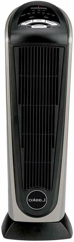Lasko 751320 Ceramic Tower Space Heater with Remote Control