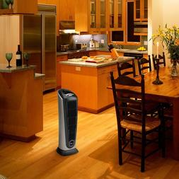 751320 ceramic tower space heater with remote