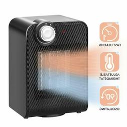 90 oscillating space heater 1s instant warm