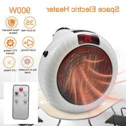 900w portable electric space fan heater ceramic
