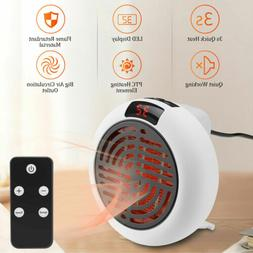 900W Portable Electric Space Fan Heater Ceramic Thermostat R