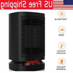 950W Electric Heater Desktop Space Heating Fan Home Office I