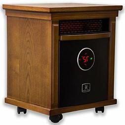Heat Storm HS-1500-ISM Infrared Cabinet Heater, Oak