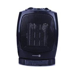 Homegear 1500W Ceramic Heater with Electric Oscillating Fan