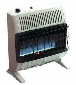 30,000 BTU Vent-Free Blue Flame Propane Heater