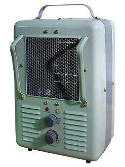 TPI Corporation 188TASA Fan Forced Portable Heater – Milk