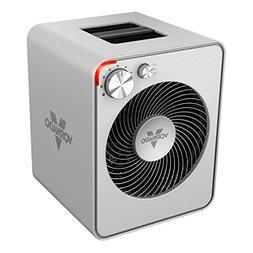 Vornado - Vortex Electric Fan Heater - Silver