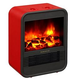 RICHFLAME Ada Portable Electric Fireplace Heater Stove, 9 in