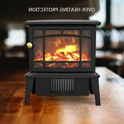 adjust indoor electric fireplace space warmer heater