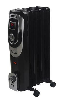 Adjustable 1500W Room Setting Digital Portable Oil Filled Ra