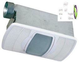 Air King Ak55L Combination Ceramic Heater With Exhaust Fan A