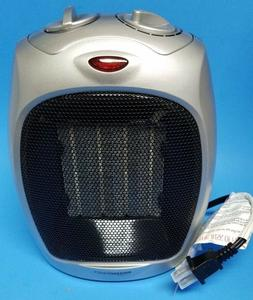 Amazon Basics Ceramic Space Heater with Adjustable Thermosta